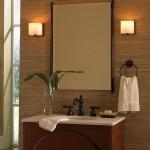 retro Bathroom vanity lighting ideas