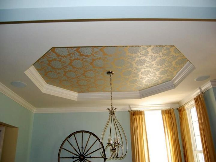 18 beautiful different ceiling ideas that fit any interiors for Types of ceiling designs