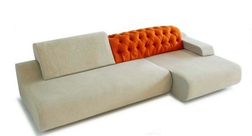 retro style modular sofas