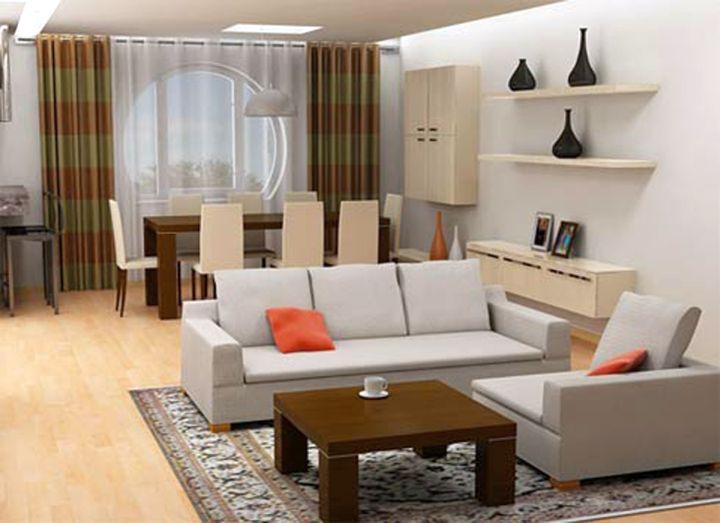 retro style small living room ideas