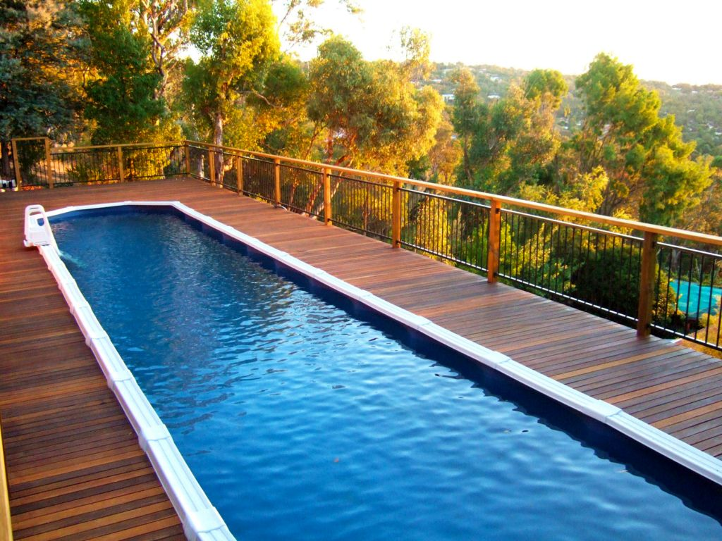 19 breath taking lap pool designs made for modern homes for How to design a pool