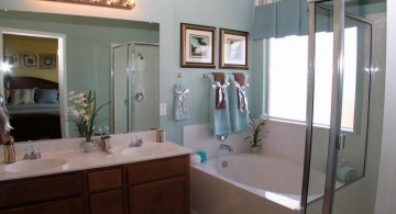 row of bulbs Bathroom vanity lighting ideas