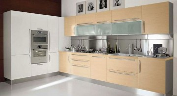 rustic and minimalist modern furniture for kitchen