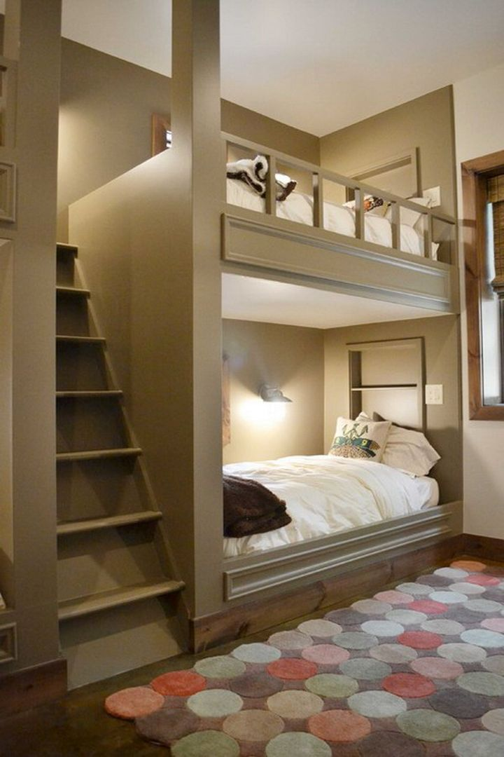 rustic and space savvy stylish bunk beds