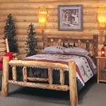 rustic bed plans for cottage