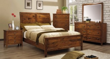 rustic bed plans for master bedroom
