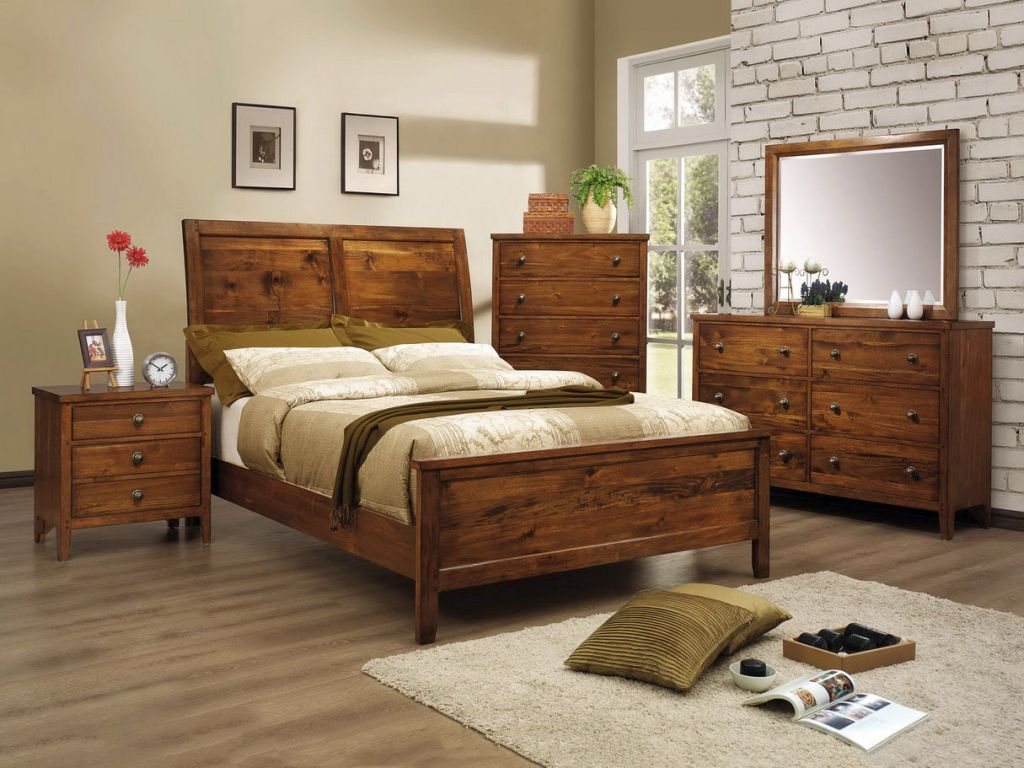Rustic bed plans for master bedroom for Rustic bed plans