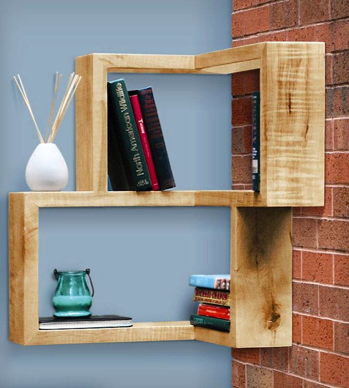 So What Do You Think About Rustic Framed Corner Shelf Designs Above Its Amazing Right Just Know That Photo Is Only One Of 18 Pretty