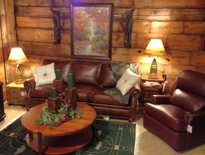 rustic living room ideas for small space