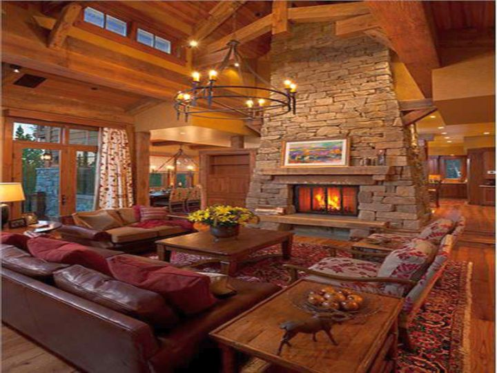 rustic living room ideas for summer house