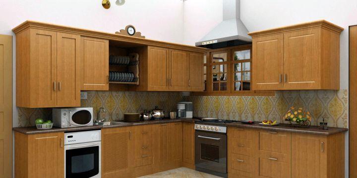 rustic modular kitchen designs for corner kitchens