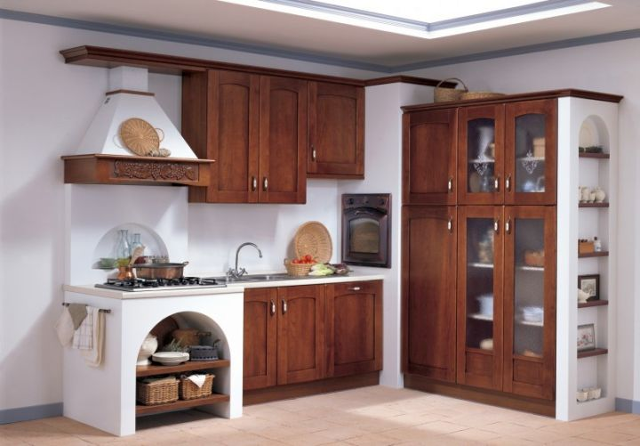 rustic modular kitchen designs