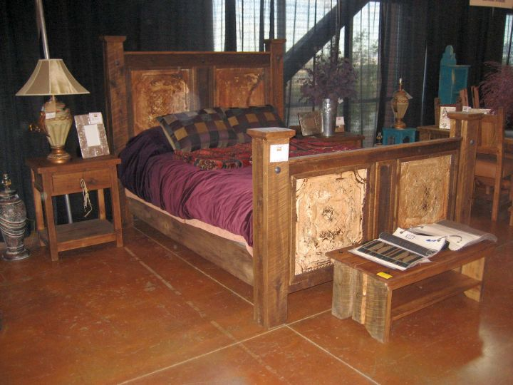 rustic nightstand tuscan style bedroom furniture