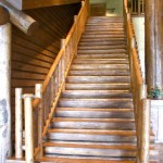 rustic threads wooden staircase designs