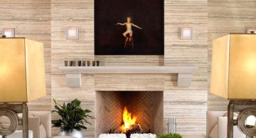 scandinavian fireplace design ideas 12