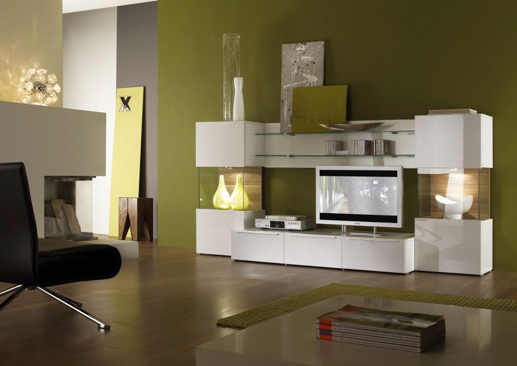 19 great designs of wall shelving unit for living room for Wall units for living room