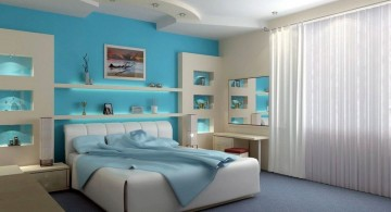 silky sea blue relaxing paint colors for bedrooms