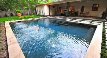 simple Backyard pool designs