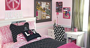 simple and girly teenage rooms ideas
