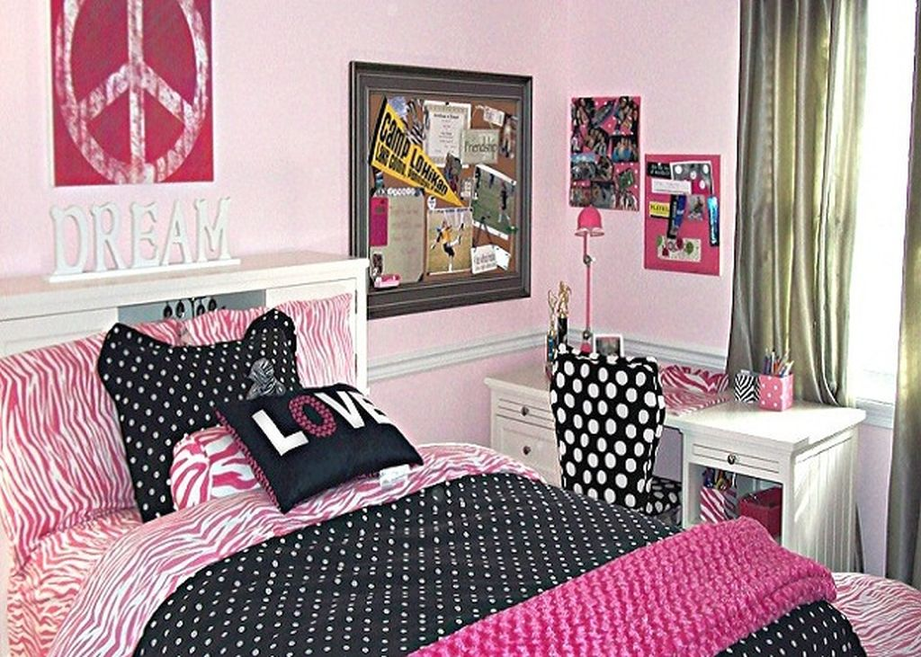 simple and girly teenage rooms ideas. Black Bedroom Furniture Sets. Home Design Ideas