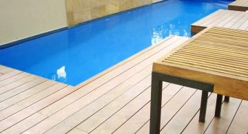 simple and minimalist lap pool designs