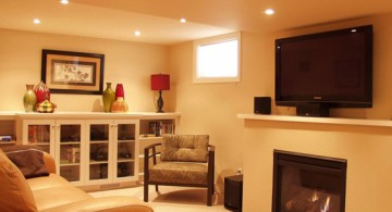 simple and sophisticated lighting ideas for basement