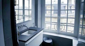simple black bathrooms ideas for apartment