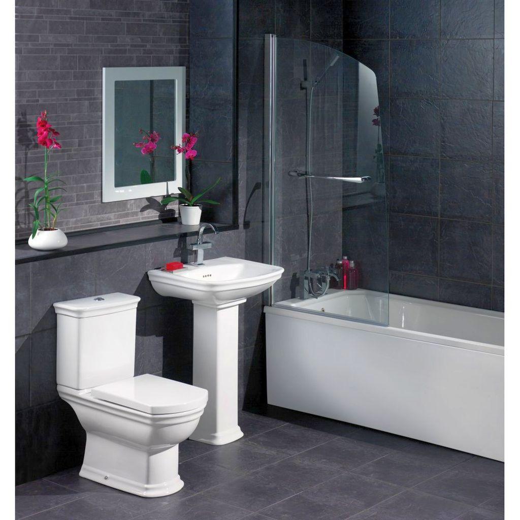 Bewitching Modern Black Bathrooms Ideas - Black and gray bathroom ideas