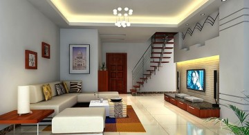 simple but awesome ceiling design ideas for living room