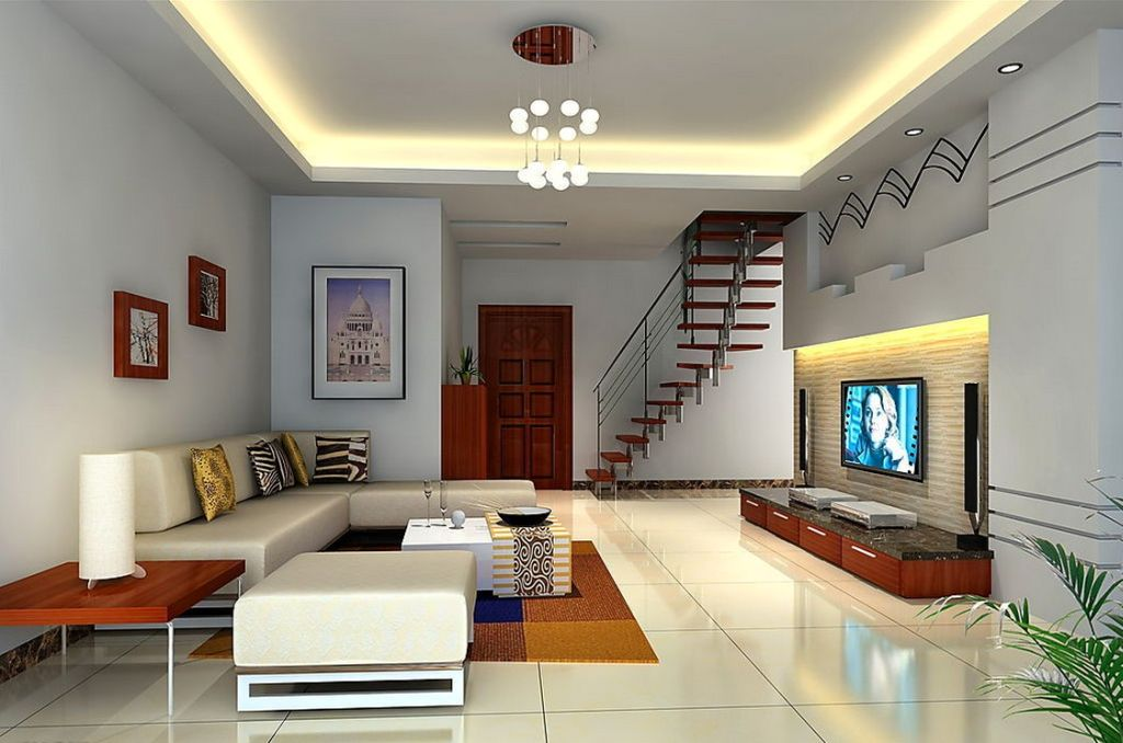20 brilliant ceiling design ideas for living room for Latest drawing room design