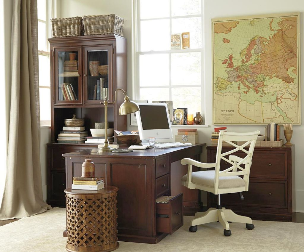 20 stylish yet affordable home office designs for Stylish home office