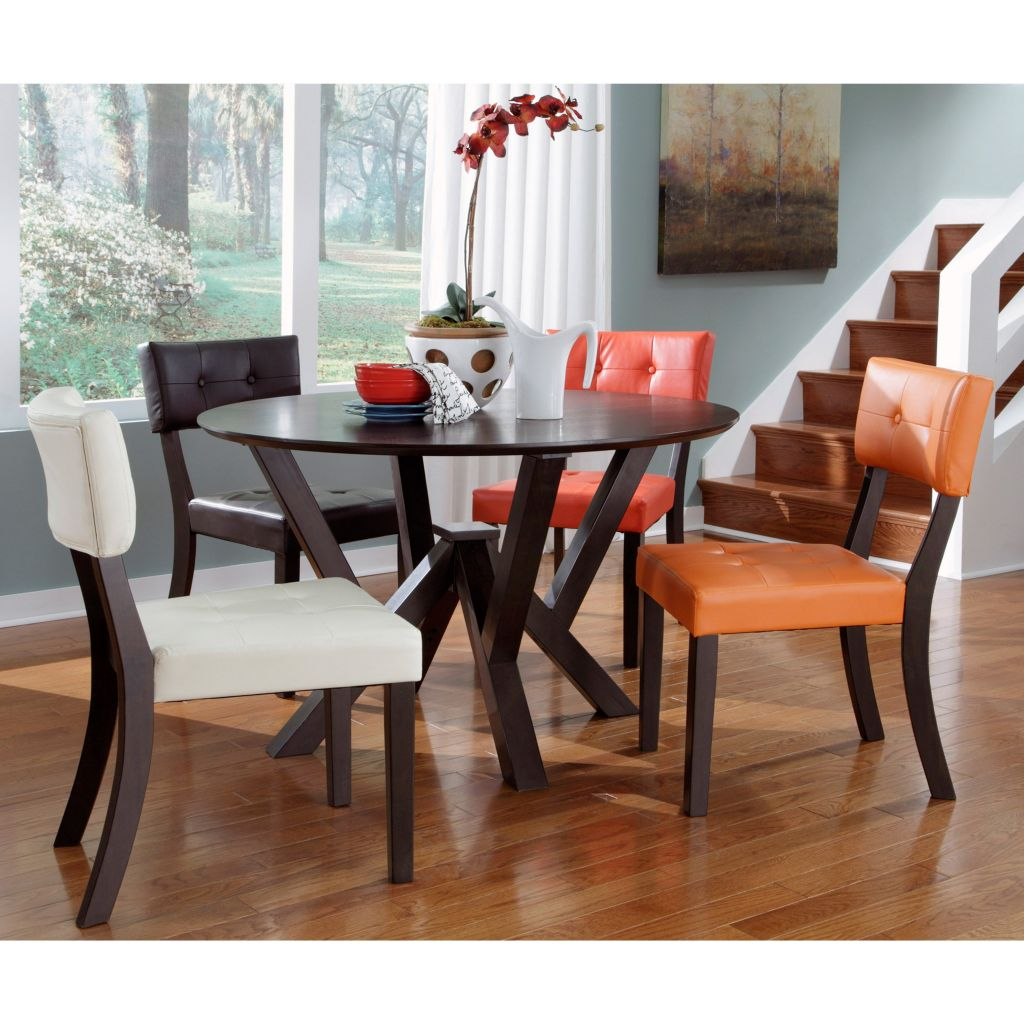 20 fun multi colored dining chairs for Colorful dining chairs