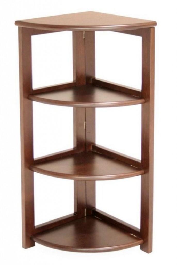 Simple Bookshelf Designs ~ Pretty corner shelf designs to help you tidy up