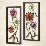simple flower art diy bedroom art