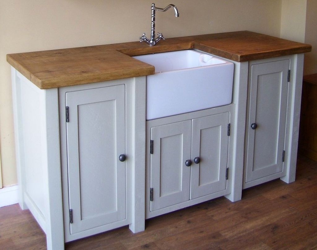 Simple Freestanding Kitchen Sinks