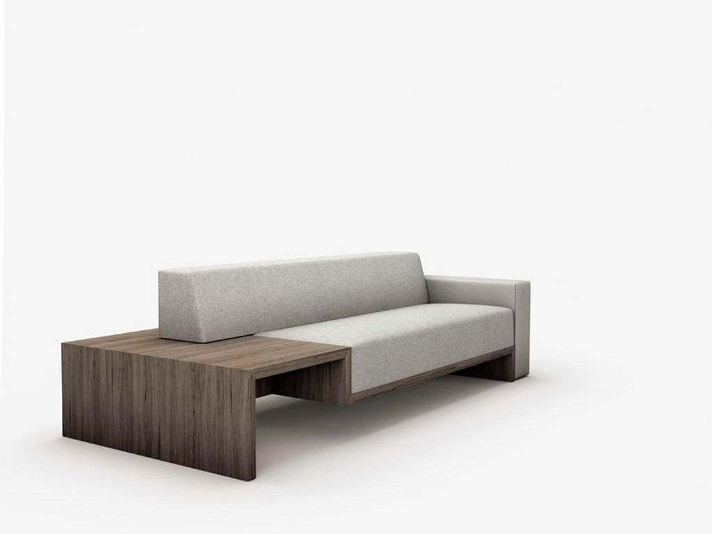 Simple minimalist modern furniture for Contemporary furnishings
