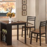 simple modern kitchen tables for small spaces