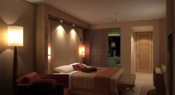 simple modern mens bedroom