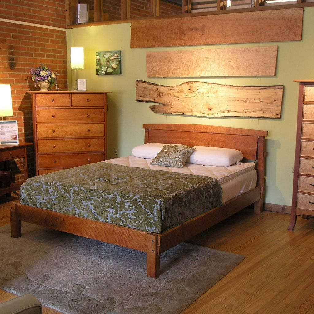 Simple Rustic Bed Plans For