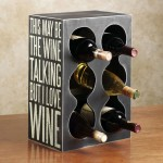 simple sixpacks contemporary wine cabinet