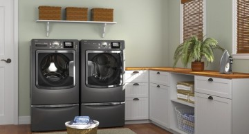 simple small laundry room designs