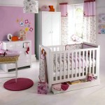simple soft pink baby room ideas