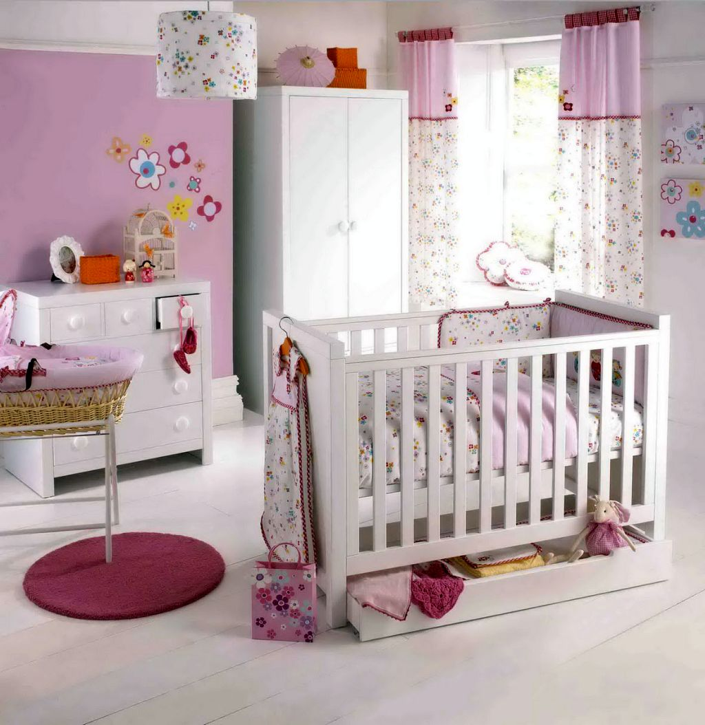 20 Cutest Themes for Pink Baby Room Ideas