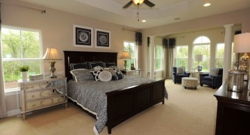 simple tray ceiling bedroom