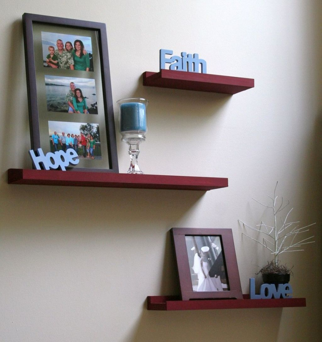 Shelves For Home Decor Ideas: 20 Neat Floating Shelf Decorating Ideas