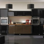 sleek and modern black ideas for cabinet doors
