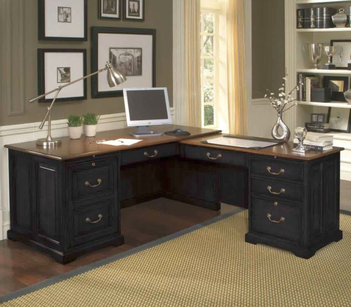 gallery for sleek office desk designs - Home Office Desk Design