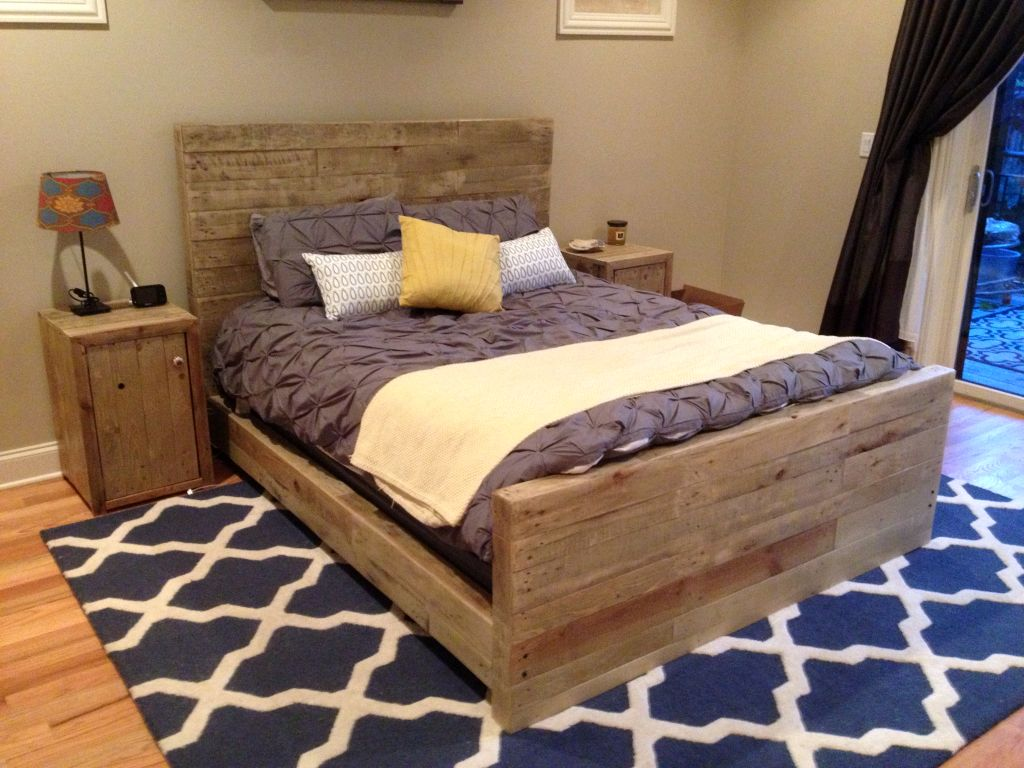 mod the sims rustic bed frames. best 25 make your own headboard ...