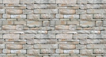 small bricks interior textured wall designs