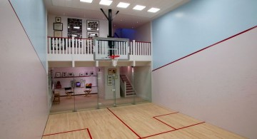 small gym indoor home basketball courts